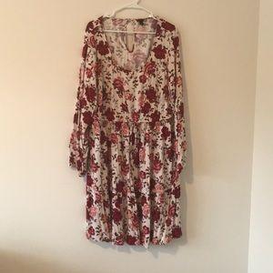NWT floral skater dress